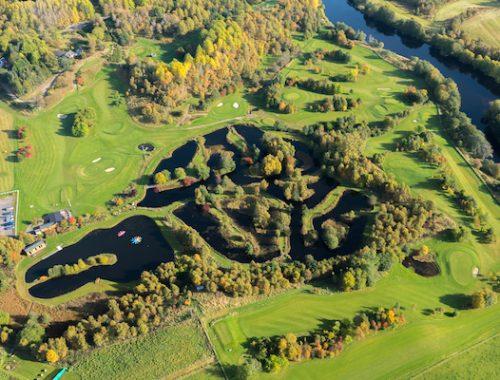 Craggan Outdoors Aerial View Highland Tourism
