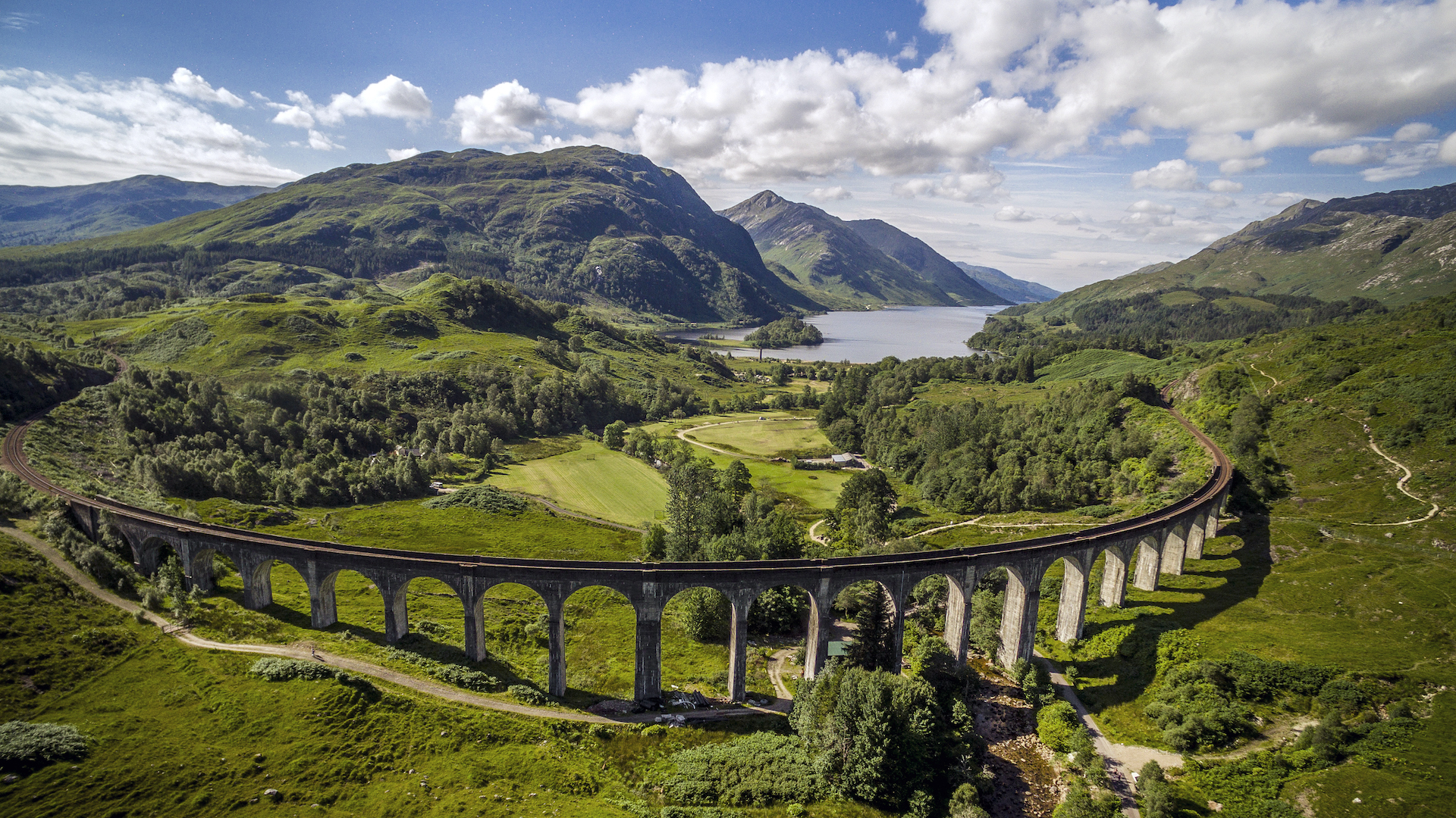 The Glenfinnan Viaduct on the West Highland Line - IMAGE CREDIT VISITSCOTLAND