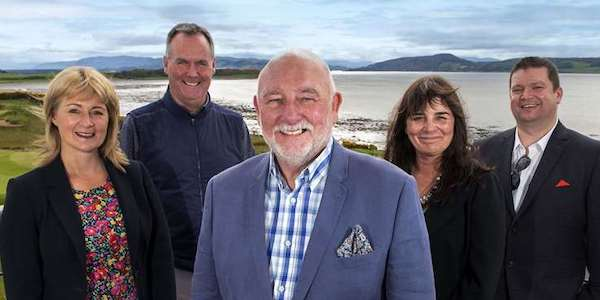 From left: Highland Tourism chairperson Yvonne Crook, directors Stuart McColm and Willie Cameron, vice-chairperson Sam Faircliff and director Chris O'Brien. Picture: Trevor Martin