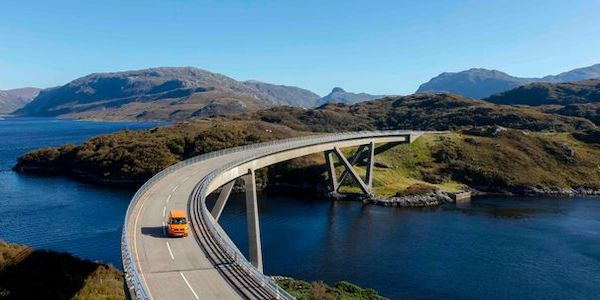 Lylesku Bridge on the popular North Coast 500 route (Image: Steven Gourlay Photography/North Coast 500/North Highland Initiative/PA Wire)